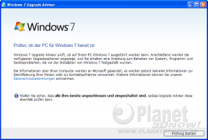Windows Ugrade-Advisor