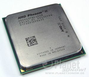 Foto des Prozessors AMD Phenom II X4 965 BE C3
