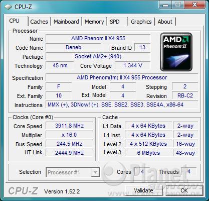 ECS A785GM-M: OC-Ergebnis
