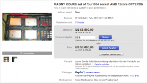 Magny Cours bei Ebay