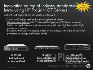 HP ProLiant G7 Server
