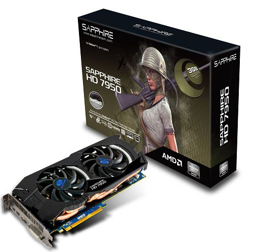 AMD Radeon HD 7950 Variationen