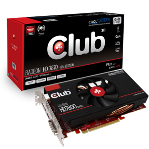 Club 3D Radeon HD 7800 Portfolio