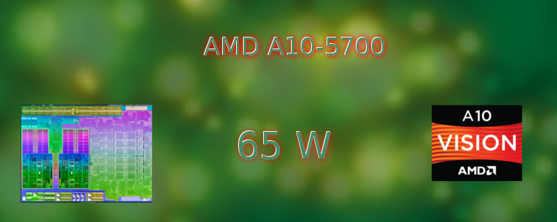 AMD A10-5700