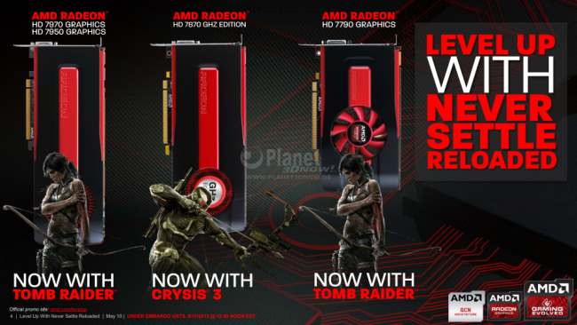 Never Settle Reloaded: Level Up
