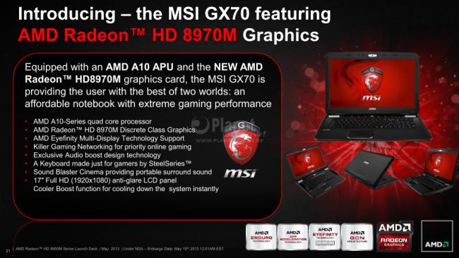 AMD Radeon HD 8900M