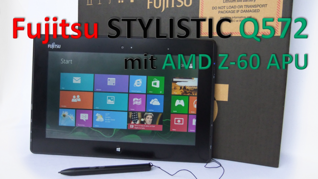 Fujitsu STYLISTIC Q572 - Titelbild Artikel