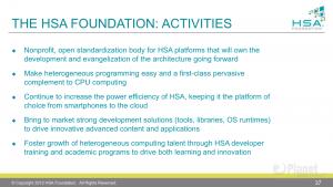 Gründung HSA-Foundation