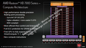 AMD Radeon HD 7900 - Architektur