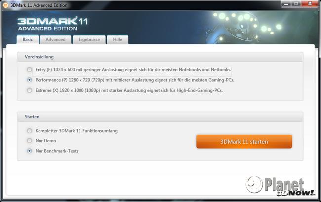 Vorschaubild 3DMark11