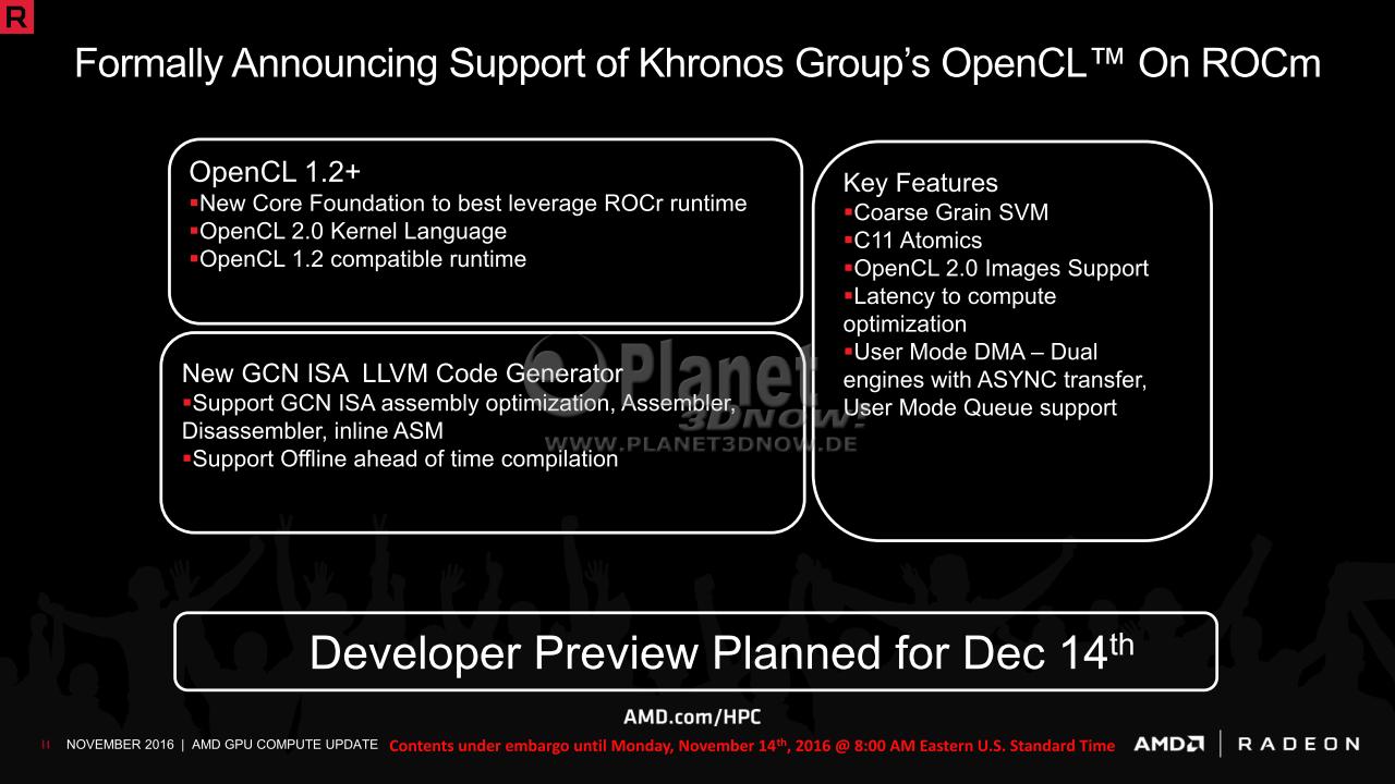 Radeon Open Compute 1 3 Platform Brings Polaris & Other Features