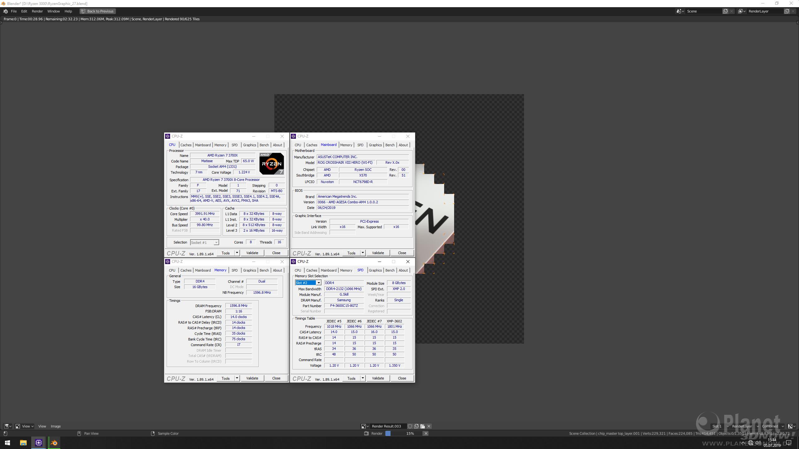 AMD Ryzen 3000: reale Taktraten
