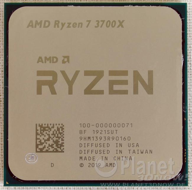 AMD Ryzen 3700X im Detail