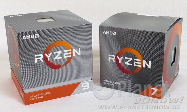 Das Review-Kit von AMD zu Ryzen 3000