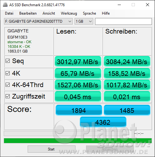SSD-Benchmarks: AS SSD Benchmark