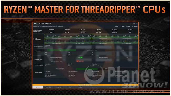 Präsentation zu Ryzen Threadripper 2000