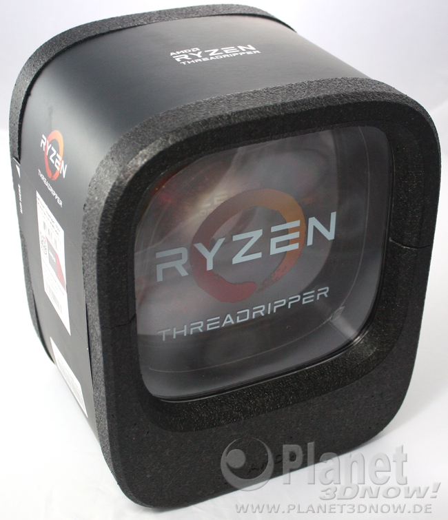 Unboxing AMD Ryzen Threadripper 1950X
