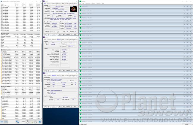 Prime95: Throttling und Programmfenster