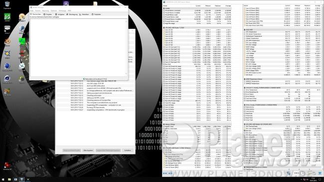 Taktrate 2700X mit aktiviertem Precision Boost 2: BOINC-Benchmark