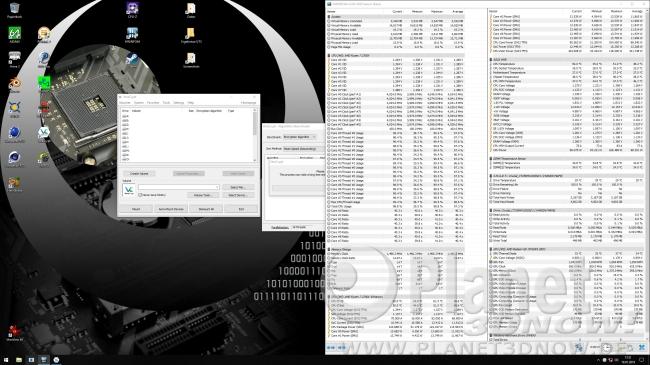 Taktrate 2700X mit aktiviertem Precision Boost 2: Veracrypt-Benchmark
