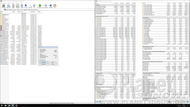 Taktrate 2700X mit aktiviertem Precision Boost 2: WinRAR-Benchmark