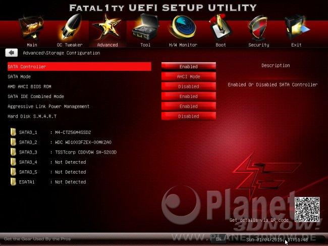 ASRock Fatal1ty 990FX Killer BIOS klein 09