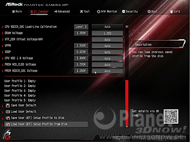 ASRock X570 Phantom Gaming X: BIOS