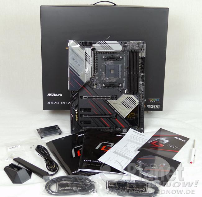 ASRock X570 Phantom Gaming X: Lieferumfang