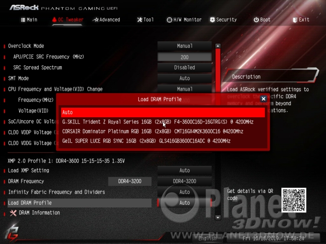 ASRock X570 Phantom Gaming X: Overclocking-Features