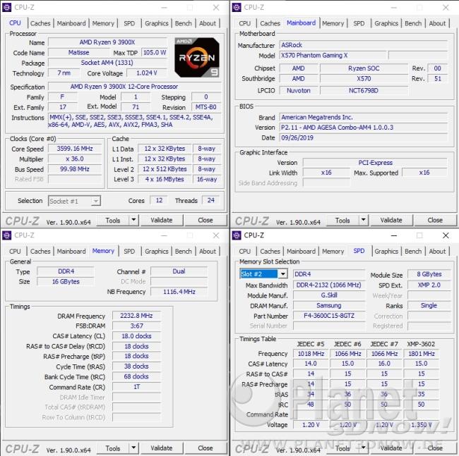 ASRock X570 Phantom Gaming X: Overclocking in der Praxis