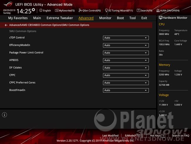 ASUS Crosshair VIII Hero (Wi-Fi): Overclocking-Features