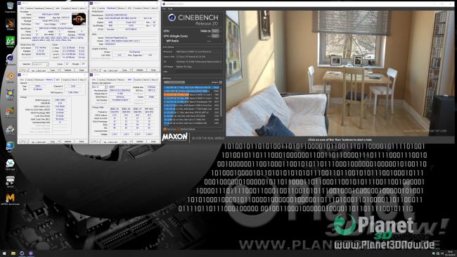 ASUS Crosshair VIII Hero (Wi-Fi): Overclocking in der Praxis