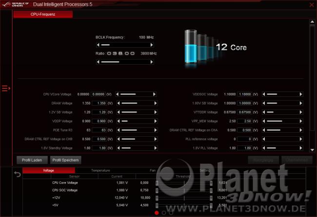 ASUS Crosshair VIII Hero (Wi-Fi): Software - AISuite