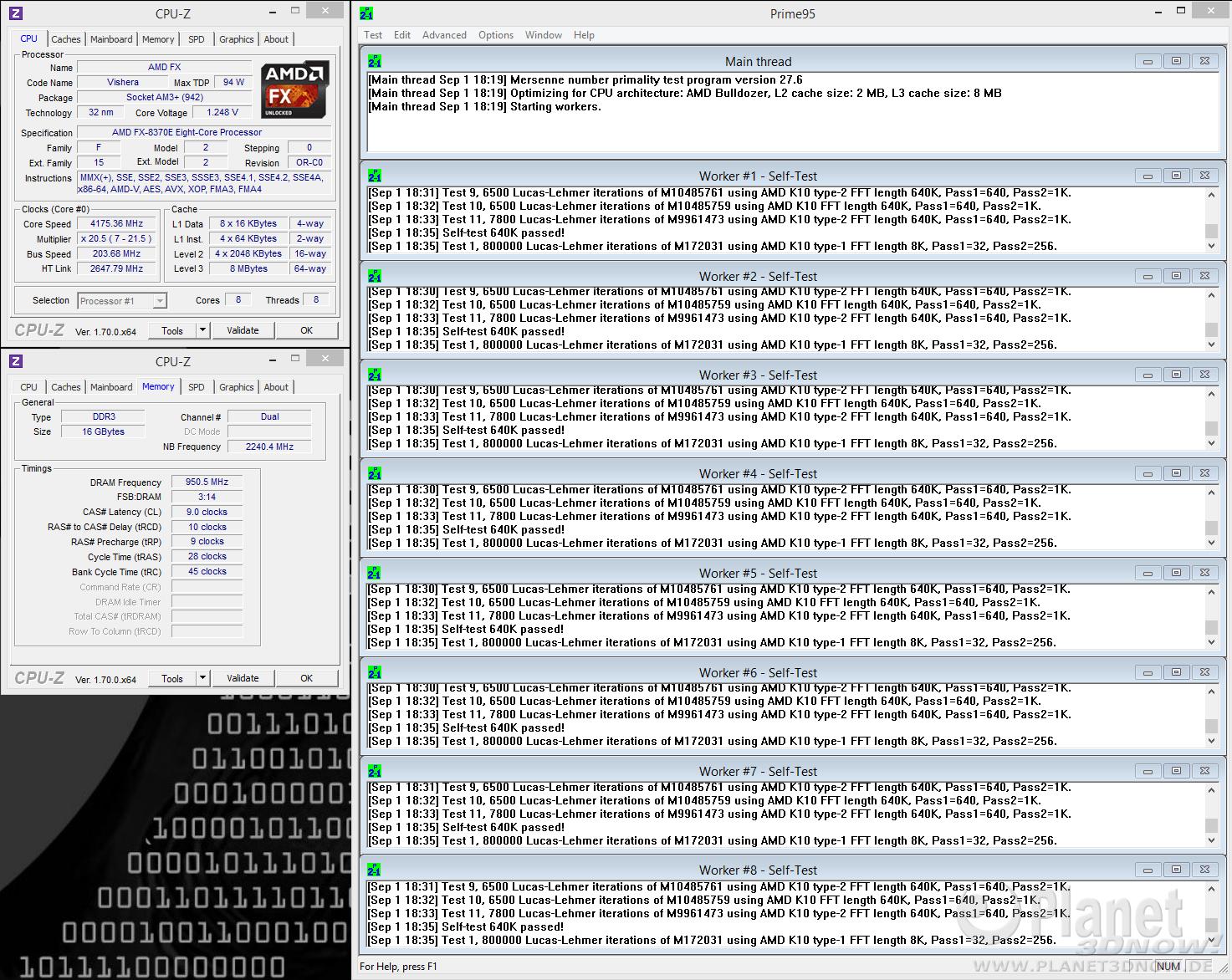 AMD FX-8370E: Übertaktung mit Spannungsanhebung