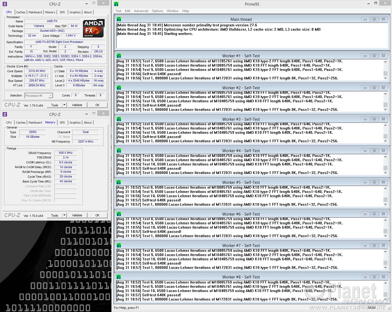 AMD FX-8370E: Spannungsabsenkung bei Standardtakt komplett