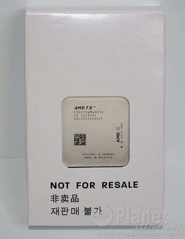 AMD FX-8370E in der Verpackung