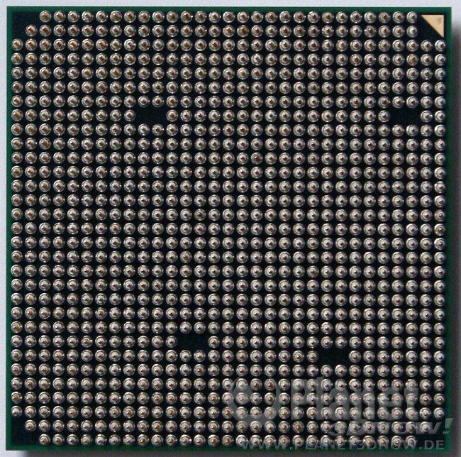 AMD FX-8370E Unterseite