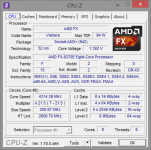 AMD FX-8370E CPU-Z Turbo-Stufe 2