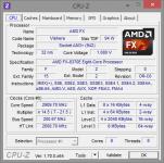 AMD FX-8370E CPU-Z unter AVX-Last