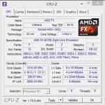 AMD FX-8370E: Spannungsabsenkung bei Standardtakt klein