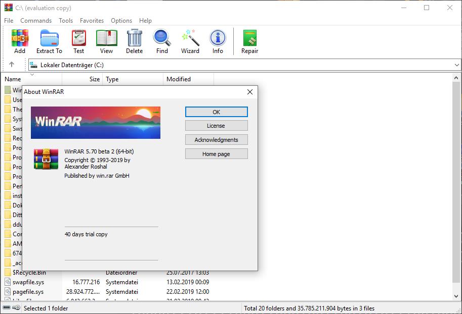 WinRAR 5 80 beta 1 | Planet 3DNow!