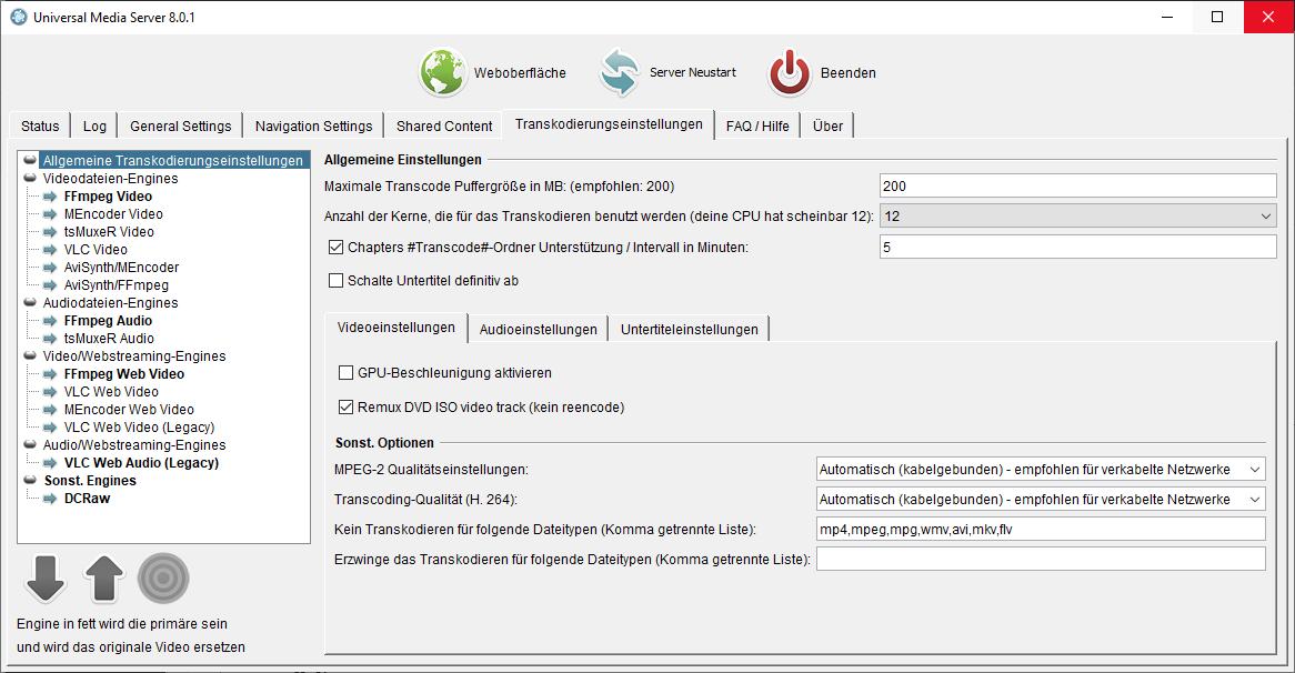 Universal Media Server 8 0 1 | Planet 3DNow!
