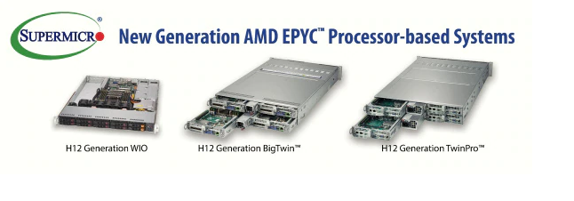 Supermicro Now Offering AMD EPYC™ 7002 Series Processor
